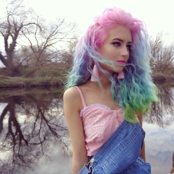 Cheveuz pastel 13