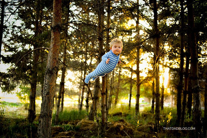 Enfant qui vole 5