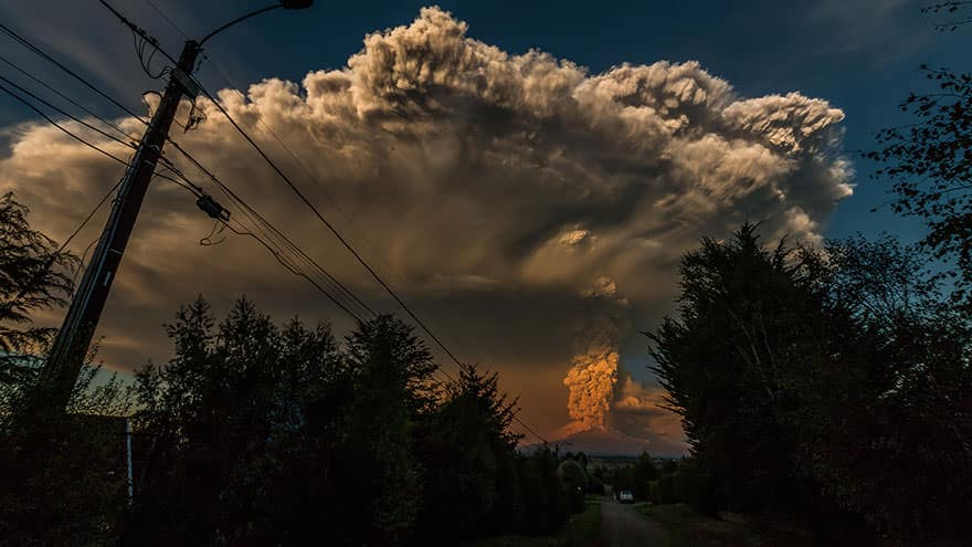 Eruption volcan calbuco 11