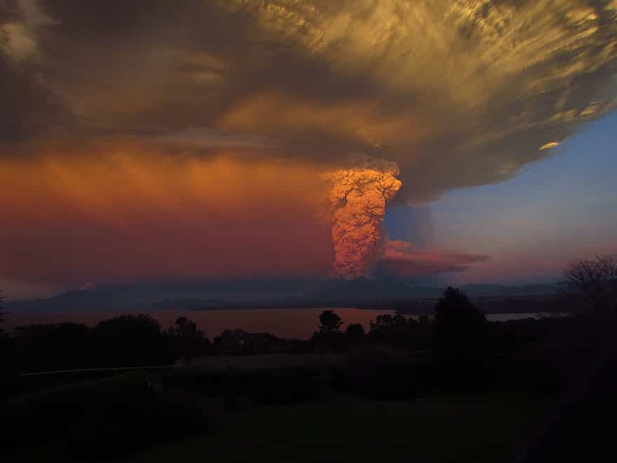 Eruption volcan calbuco 12