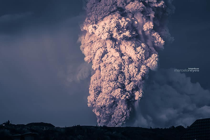 Eruption volcan calbuco 16