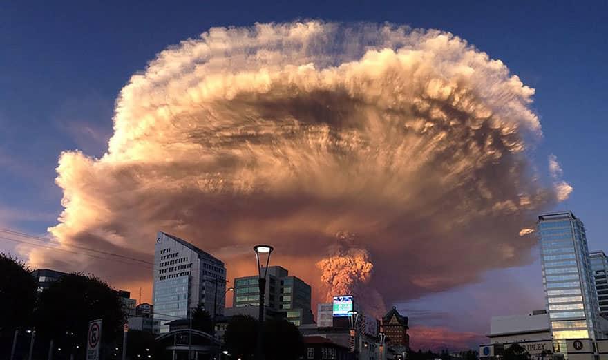 Eruption volcan calbuco 2