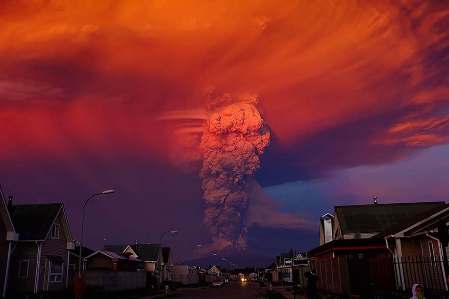 Eruption volcan calbuco 3
