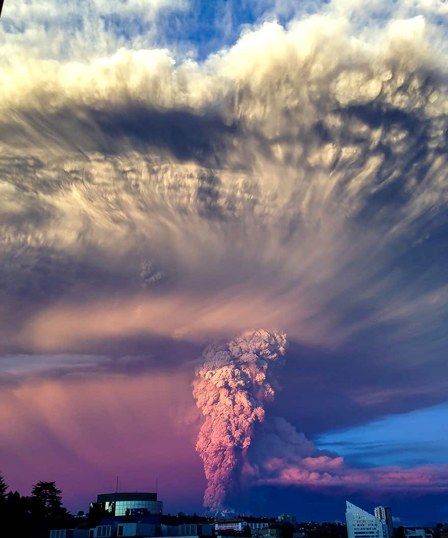 Eruption volcan calbuco 4