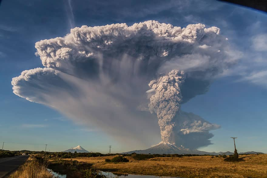 Eruption volcan calbuco 6