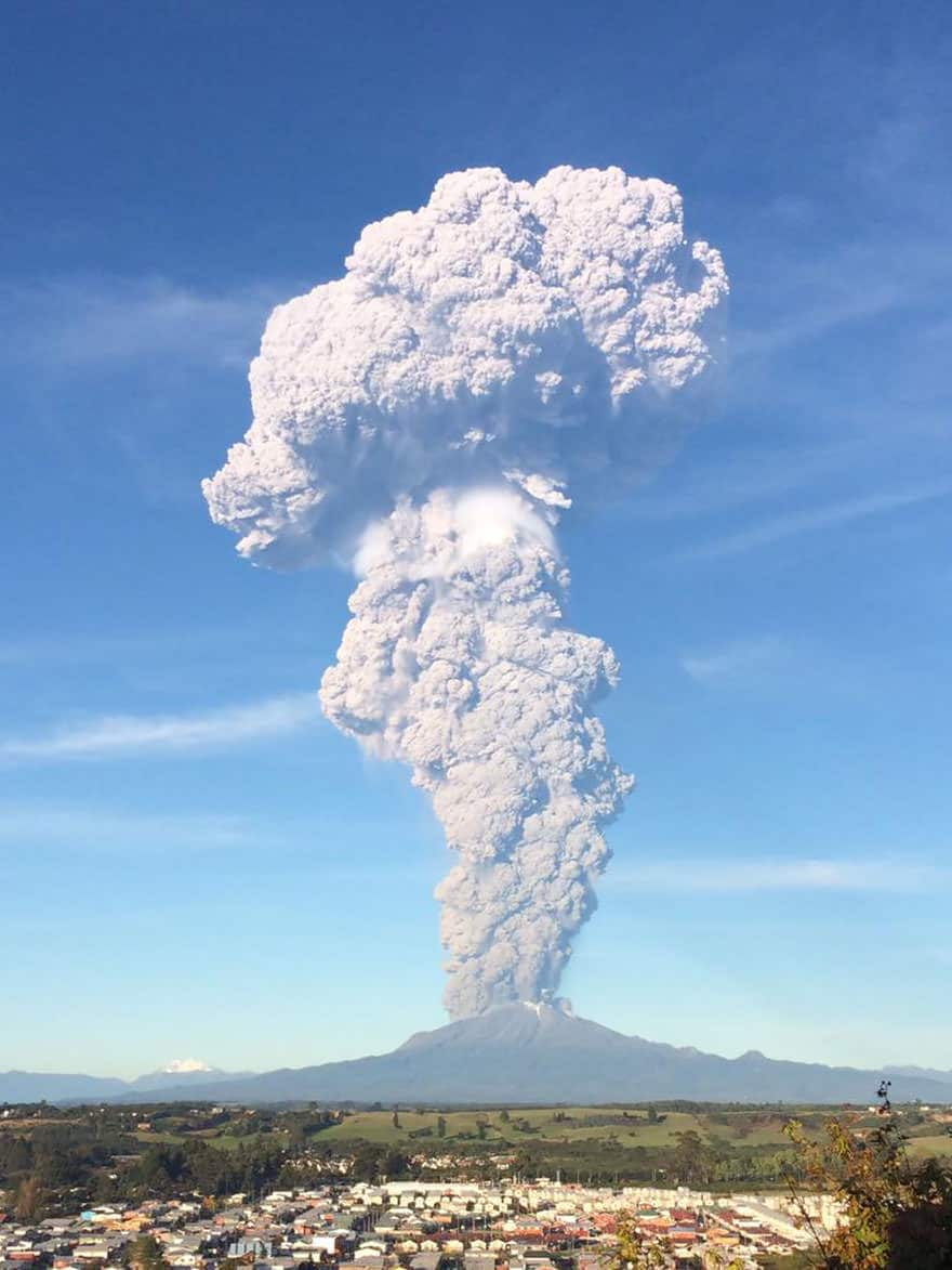Eruption volcan calbuco 8