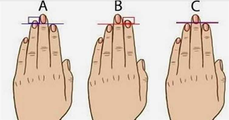 Waouh ! La longueur de vos doigts révèlent votre caractère