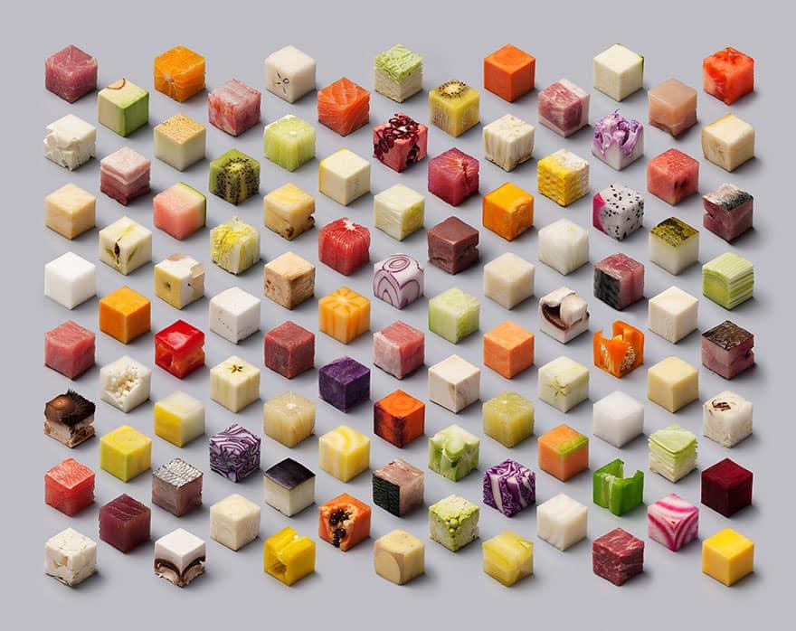 Cube nourriture parfait 1
