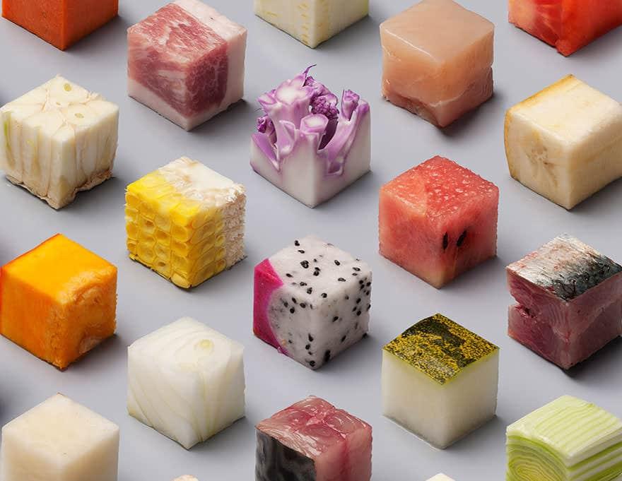 Cube nourriture parfait 3