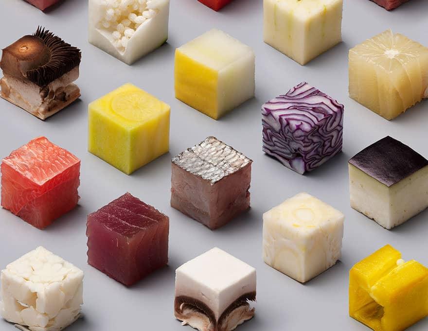 Cube nourriture parfait 4