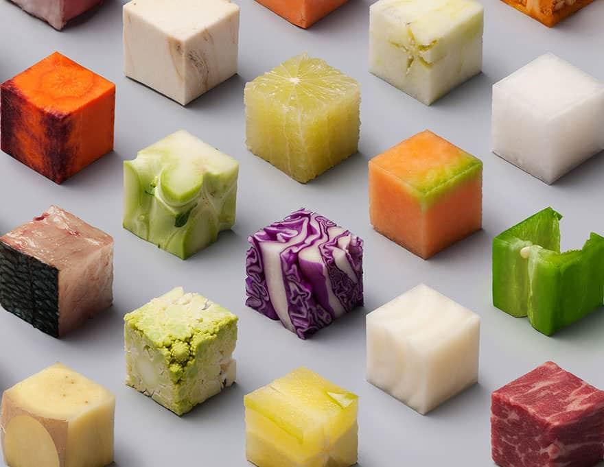 Cube nourriture parfait 5