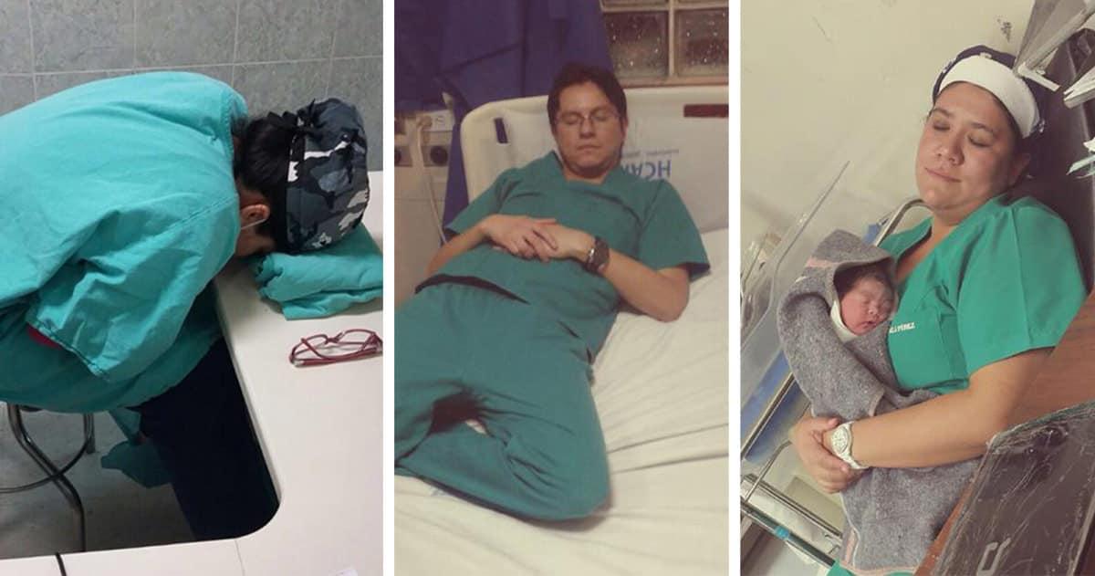 Docteurs urgentistes sendorment