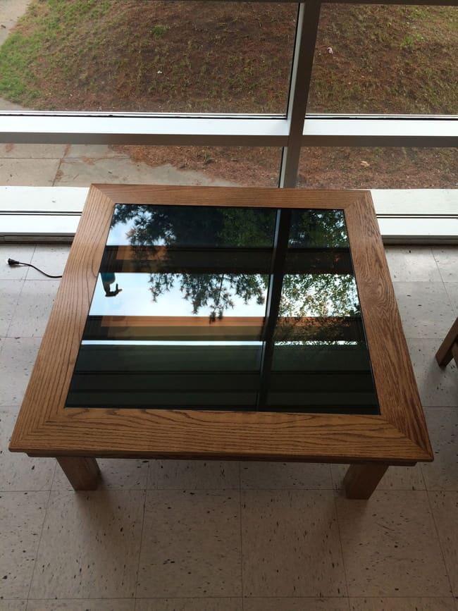 Table basse led 10