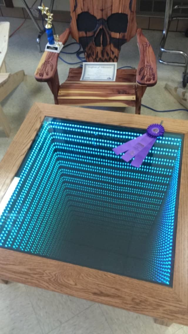 Table basse led 11
