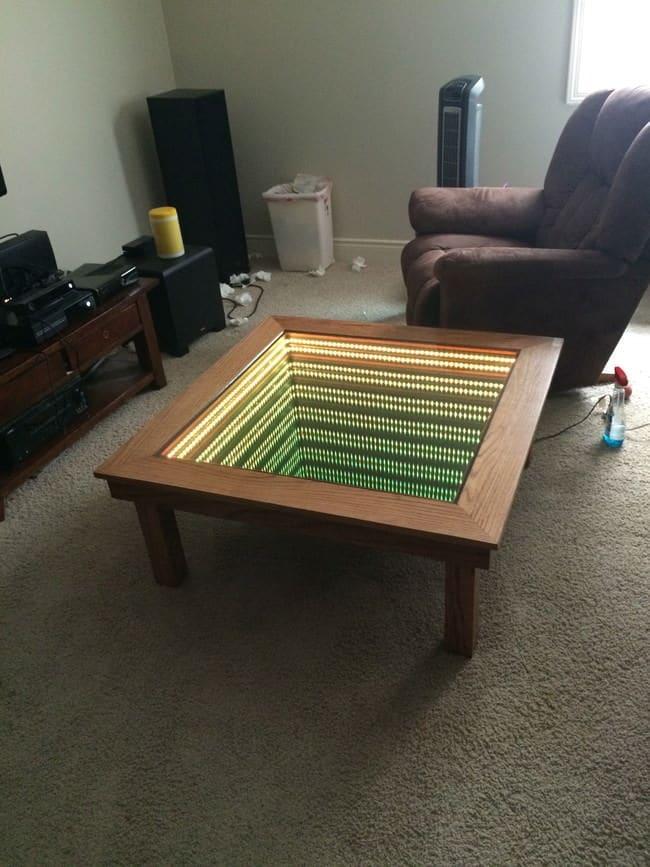 Ceci ressemble peut tre une table basse basique mais c - Construire une table de chevet ...