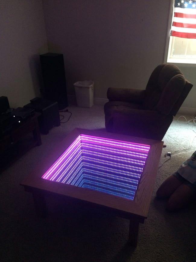 Table basse led 13