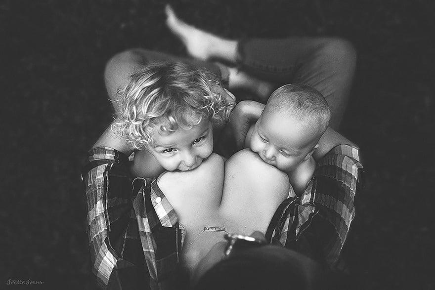Des photos splendides de mères allaitant hors de chez elles