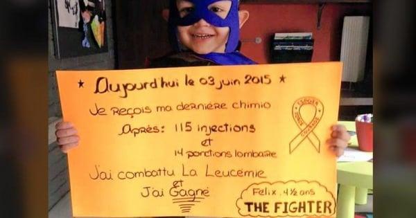 Felix le superheros contre la leucemie fb