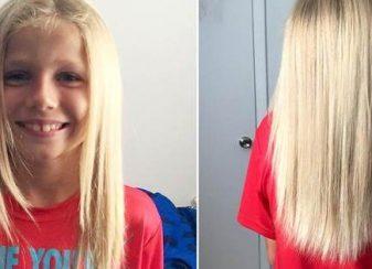 Garcon cheveux cancer