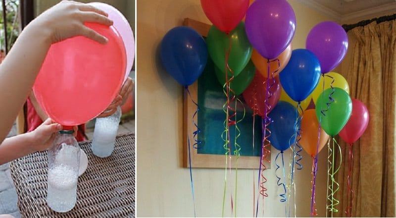 comment gonfler un ballon sans h lium. Black Bedroom Furniture Sets. Home Design Ideas