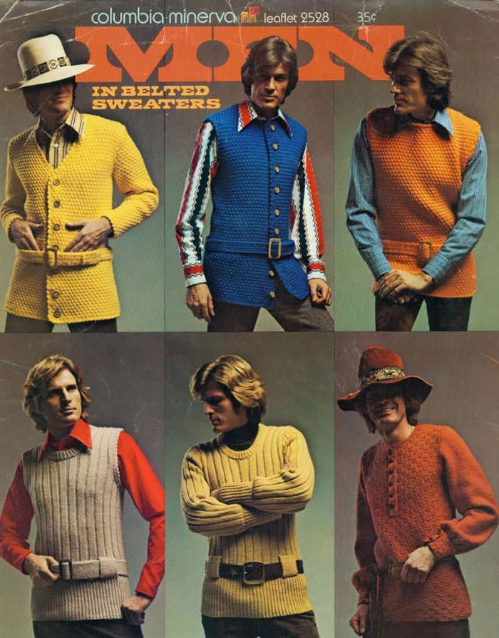 Mode homme 70s 4