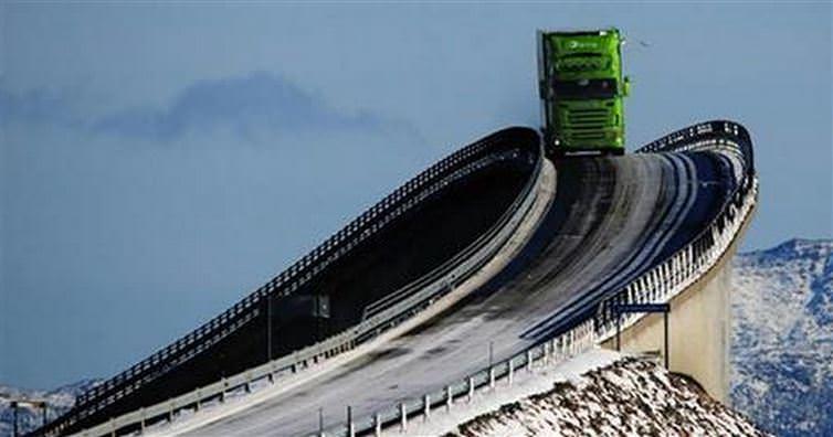 Norway atlantic ocean road
