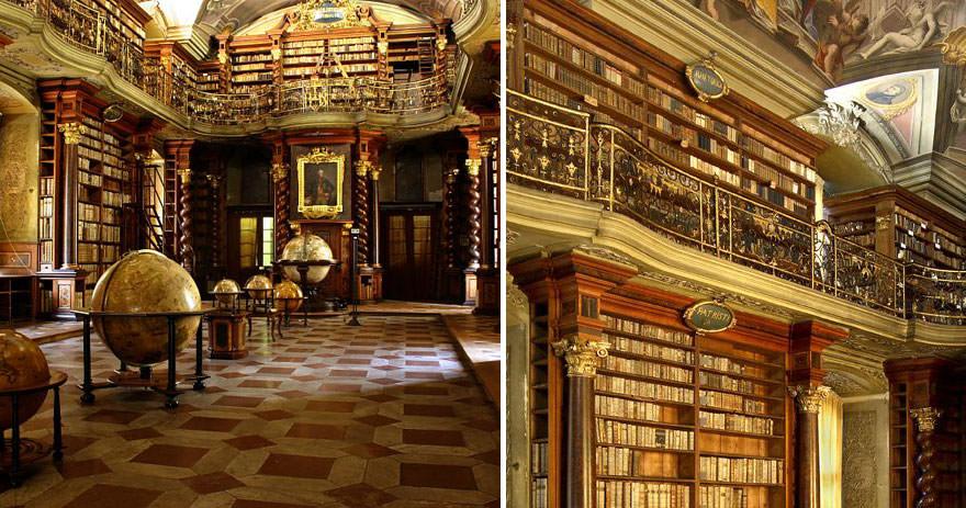 La bibliothèque Klementinum 3