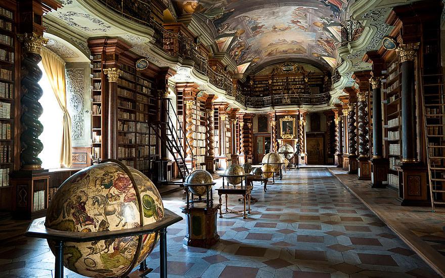 La bibliothèque Klementinum 4