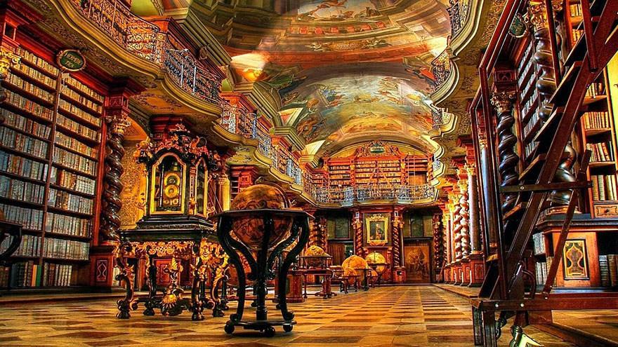 La bibliothèque Klementinum 6