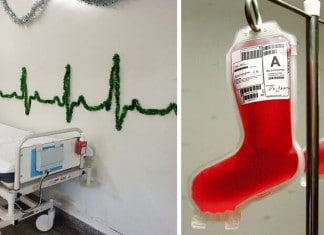 121415 hospital christmas decorations featured