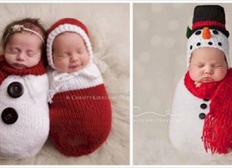 122915 12 babies knitted christmas outfits featured