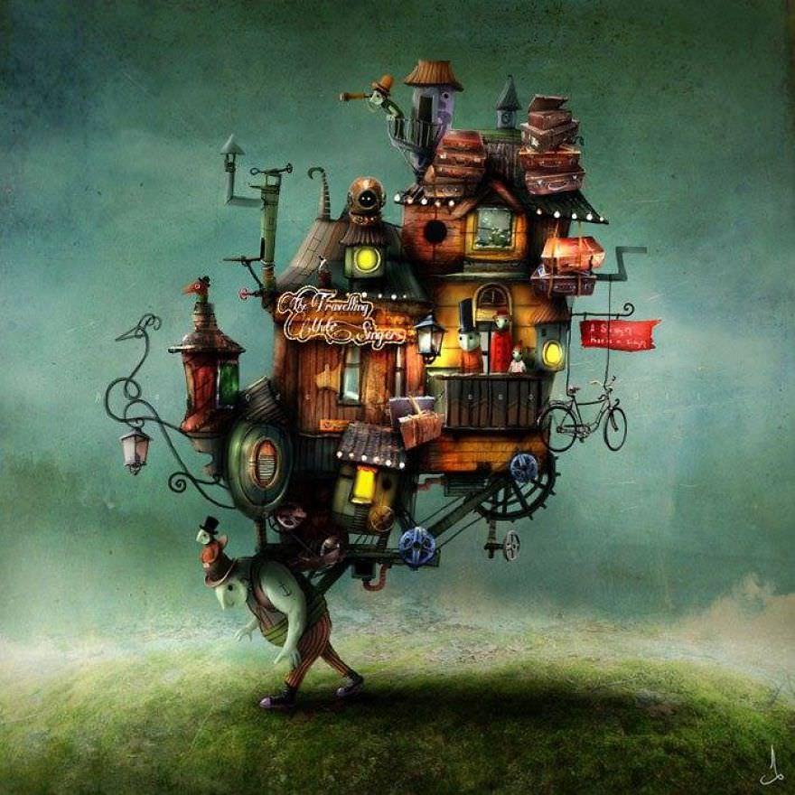 Illustration Conte De Fée des illustrations qui ressemblent a des contes de fées