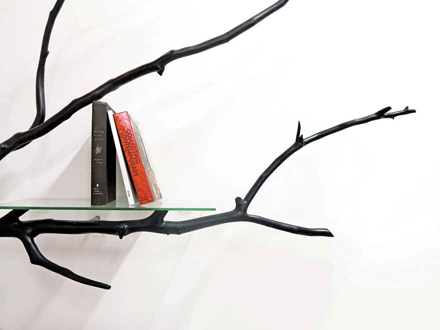 011316-Artist-Turns-Tree Branch-Into-Shelf-4