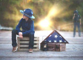 011316 little boy honors fallen father featured