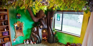 012516 dad transformed daughter bedroom fairytale treehouse featured