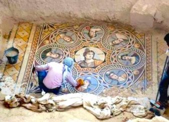 012916 ancient mosaics have been unearthed featured