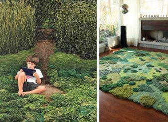 Des tapis de laine uniques f