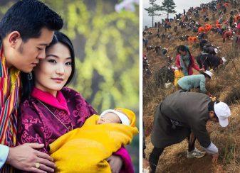 Le bhoutan pays le plus f