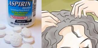Si vous écrasez de laspirine f