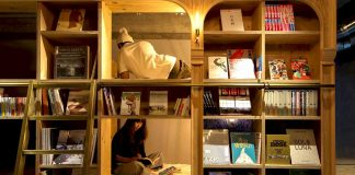 Tokyo dispose d'un hôtel bibliothèque f