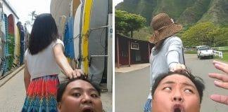 Un couple de taïwanais fait f