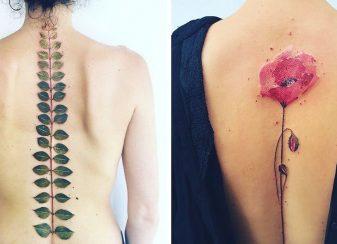Des tatouages éthérés inspirés par f