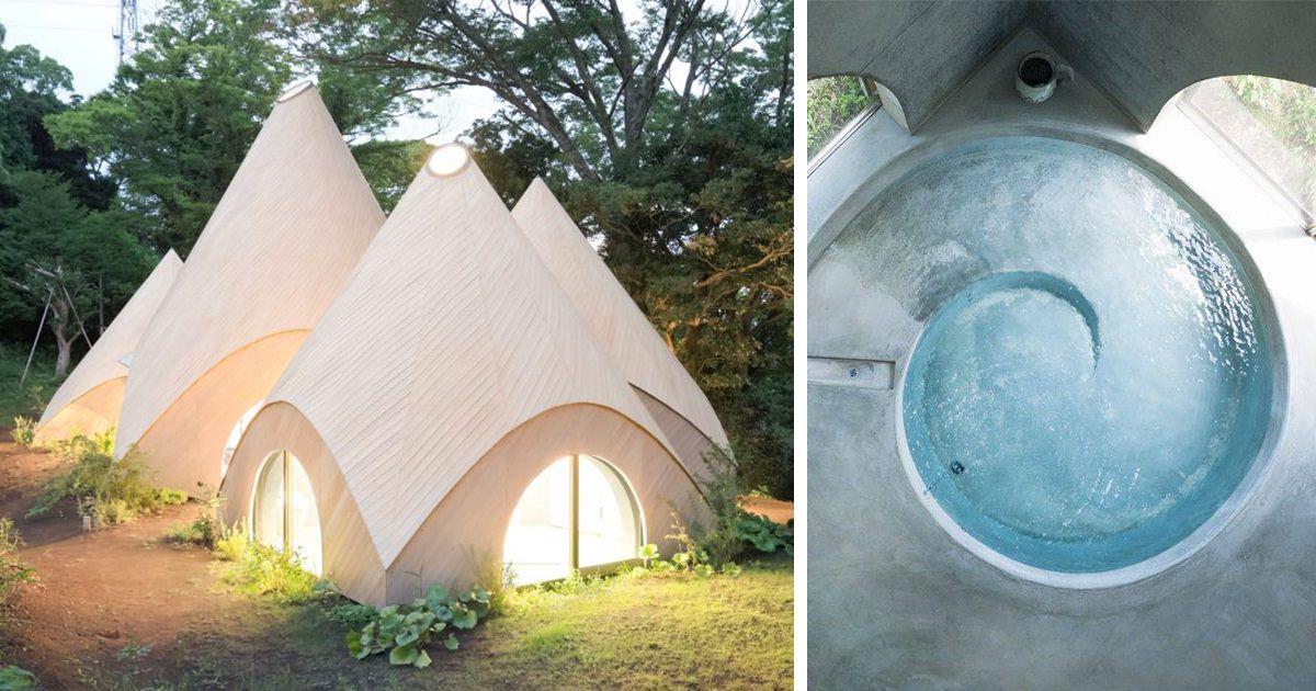 Des femmes retrait es vivent le r ve de leur vie dans une - Architecte japonais ...