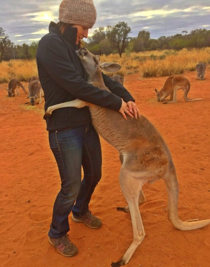 Facebook / The Kangaroo Santuary Alice Springs