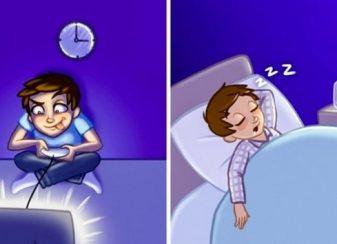 12 habitudes nocturnes qui vous f