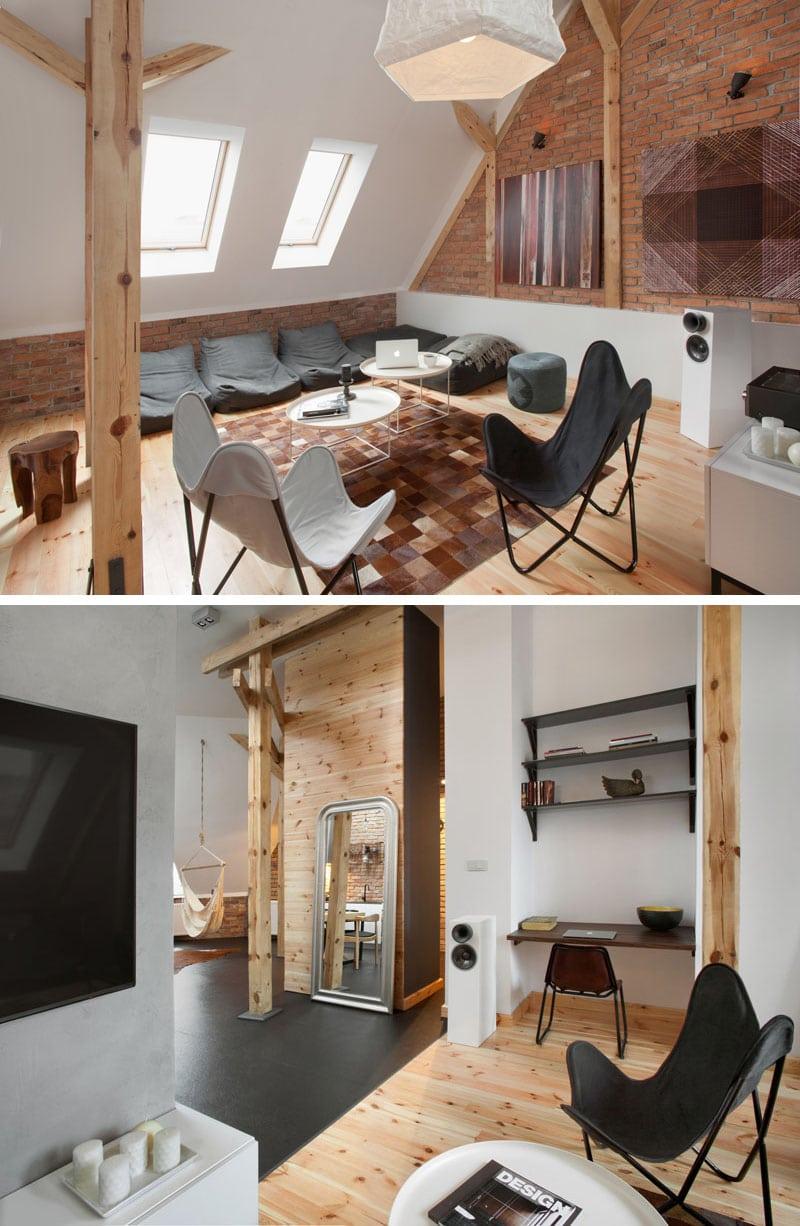 Cet appartement contemporain de type 02s