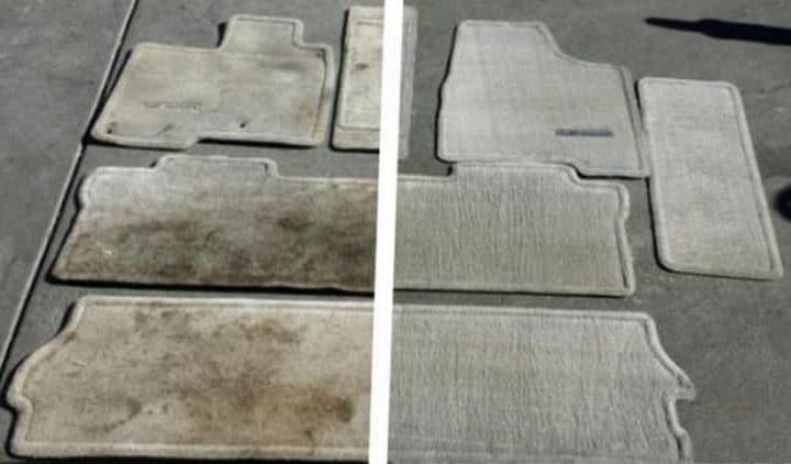 42 astuces de nettoyage efficaces pour votre voiture. Black Bedroom Furniture Sets. Home Design Ideas