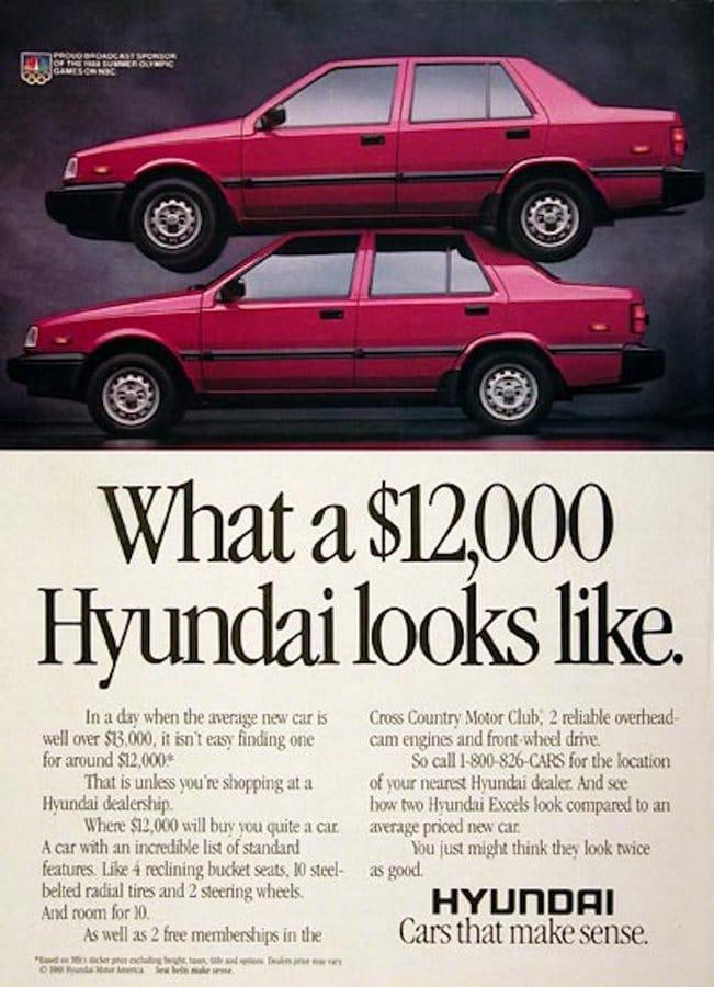 Les pires voitures des années 80.