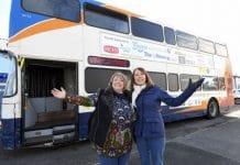 Une femme transforme un bus 08s