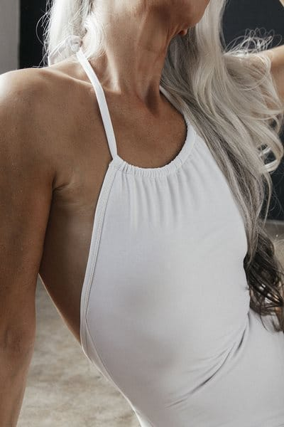 A beautiful model of 61 years